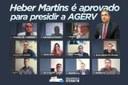 Novo presidente da AGERV será Heber Martins