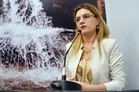 Vereadora cobra informações sobre retirada de chorume no Aterro Sanitário