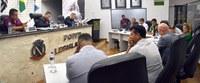 Vereadores realizam sessão extraordinária para votação de 5 matérias