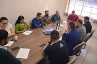 Vereadores recebem representantes da AGERV para esclarecimentos sobre projetos de lei